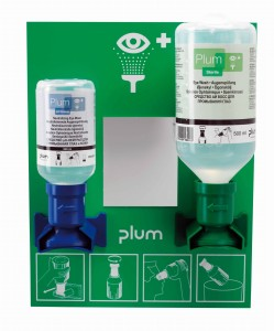 Zestaw do płukania oka Plum Eyewash Stations 4773, 200+500 ml