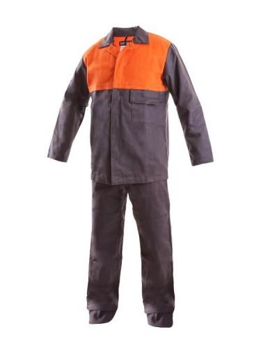 e02ef85d15 Spodnie robocze dla spawacza MOFOS - Glovex odzież ochronna i robocza