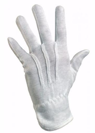 208032c6540708 Rękawice bawełniane białe frak kropka MAWA - Glovex rękawiczki Bhp